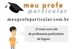Portal de Professores particulares de línguas