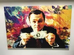 Quadro Lobo de Wall Street