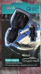 Carregador turbo  inova para carros 30$