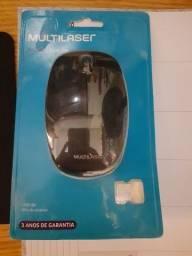 Mouse sem fio USB 2.4GHz Multilaser