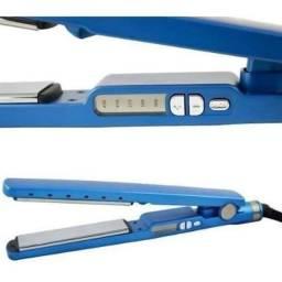 Título do anúncio: Prancha De Titânio Para Cabelo Inova Hw-912 Azul Bivolt