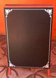 Título do anúncio: Lousa cavalete quadro negro