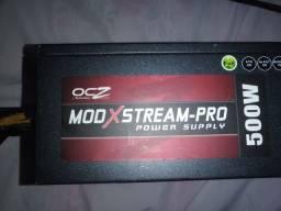 Fonte ATX OcZ 500W com selo 80 Plus