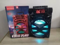 Título do anúncio: Caixa de som Bluetooth Potente Big Sound KTS-909B
