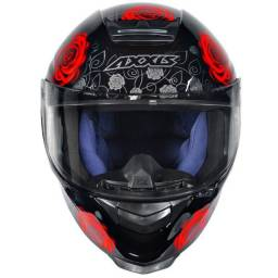 Capacete Axxis Eagle Flowers Evo Todas As Cores