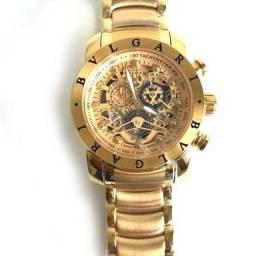 Relógio Bvlgari Dourado (( Novo ))