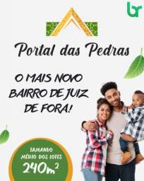 Título do anúncio: LOTE NO NOVO BAIRRO DE JF - PORTAL DAS PEDRAS