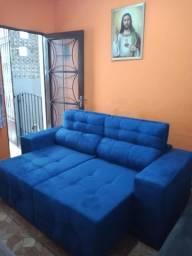 Sofa retratil e reclinavel promoção relampagoooo 1239 por 1140