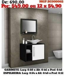 Título do anúncio: Gabinete com Espelho com Cuba de Banheiro- Conjunto -Liquidação em Ponta Grossa