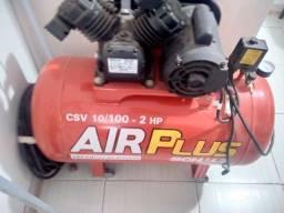 Título do anúncio: Vendo compressor de ar 100 litros