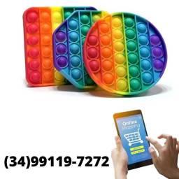 Título do anúncio: Lançamento - Pop It Fidget Toy Brinquedo Anti Stress Brinquedo