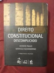Título do anúncio: Direito constitucional descomplicado