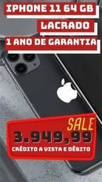 iPhone 11 64gb 1 ano de garantia (PRETO)