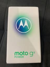 Moto g8 Power 64GB NOVO, NUNCA USADO