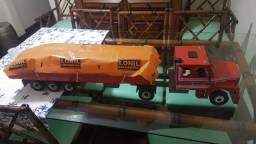 Caminhao de madeira 80 cm lonil locomotiva entrego sp