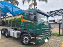 Scania R 420 6X2 trucado revisado pneus bons cambio novo 2008 R$ 170.000.