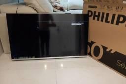 Smart Tv Philips 4K led 50 pol wifi zerada uma das melhores do mercado mundial