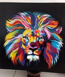 Título do anúncio: Quadro Leão
