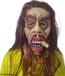 Máscara para Carnaval / Teatro - Zumbi / Velho barbudo - Nova sem qualquer uso!