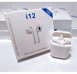 Título do anúncio: Fone de ouvido sem fio Bluetooth i12