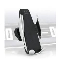 Carregador Suporte Veicular Por Indusção Qi Smart Sensor