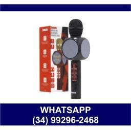 Microfone Karaokê Bluetooth * Fazemos Entregas