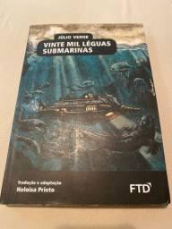 Livro semi-novo, Vinte Mil Léguas Submarinas