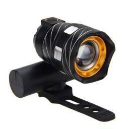 lanterna para bike luz de led recarregável profissional em alumínio