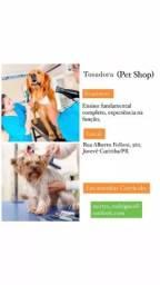 Título do anúncio: Contrata-se Tosadora/Banhista Pet Shop