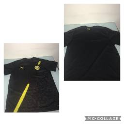 camisa do borussia preta, tamanho M nova 45 $