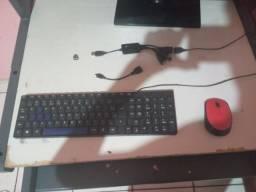 Título do anúncio: Kit teclado e mouse da logitech sem fio
