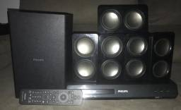 Home theater phillips 100% só venda