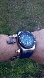Relógio a bateria cronógrafo Royal