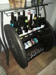 Adega Vinho / Cerveja - Móvel Rústico - Até 6x cartão