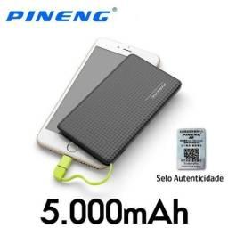 Bateria portatil power bank pineng slim pn952 5000mah portatil original