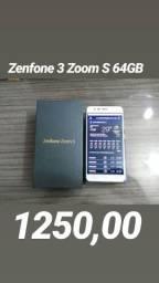Zenfone 3 zoom S 64GB celular top com preço baixo