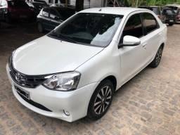 Toyota Etios Platinum 1.5 2016 - Aceito Troca - TV Couro - 2016