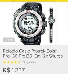 97e90618206 Casio protrek prg 130. relógio rezado falta só a pulseira