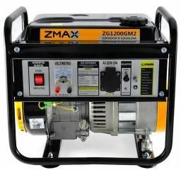 Gerador de energia a Gasolina 1200 220v - Partida Manual