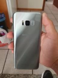 S8+ Plus com caixa na garantia!! Impecável