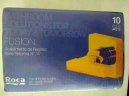 Acabamentos de Registro ROCA Base Deca 1/2,3/4 FUSION Cromado Modelo:B5A1516C00 - NOVO comprar usado  São Paulo