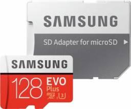 Micro Sd Samsung Evo 128gb Classe 10 U3 comprar usado  Belém