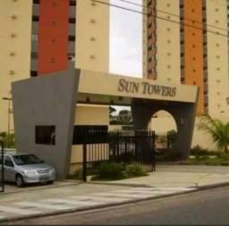 Sun Towers: Apto 2/4, 57m², sombra e ventilado. Em Satélite em Natal RN!