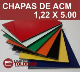 Chapas de ACM - 1,22 X 5,00