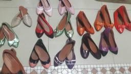 Lote de sapatilhas