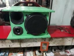 Vendo ou troco caixa de som +forca +Mixador