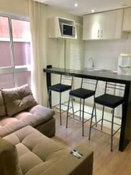 Apartamento Garden mobiliado de 1 dormitório no Bigorrilho