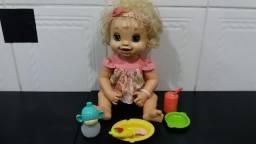 Boneca Baby Baby Alive Original Troninho fala em português (valor 300 reais), usado comprar usado  Osasco