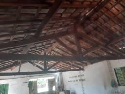 Vendo telhado completo para barracão