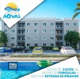 °°44°° Village Das Águas, apartamentos com 2 quartos na Região da Forquilha